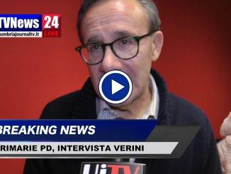 Primarie PD, le parole di Verini dopo vittoria di Bocci, intervista video