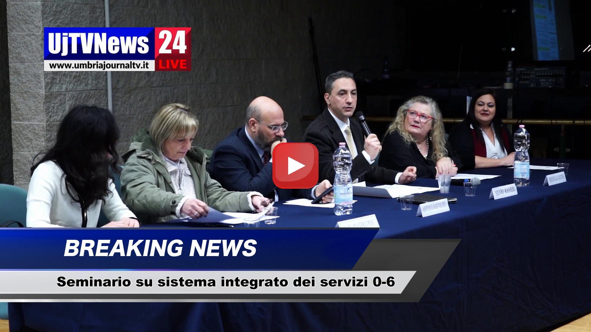 A Perugia si è aperto il seminario su sistema integrato dei servizi 0-6
