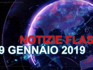 Umbria, le notizie flash di oggi del 19 gennaio 2019
