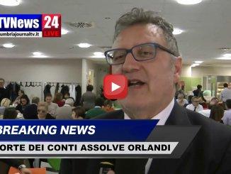 Corte dei Conti assolve Orlandi, incarico Pioppo ha fatto risparmiare, video