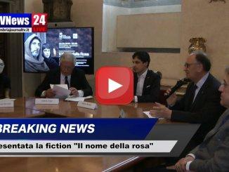 Il nome della rosa, nuova fiction Rai presentata oggi a Perugia