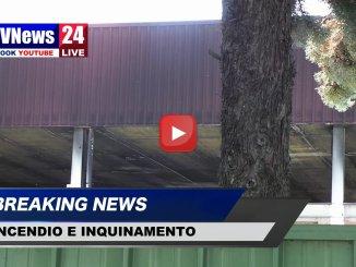 Incendio, inquinamento e contaminazione a Ponte San Giovanni video