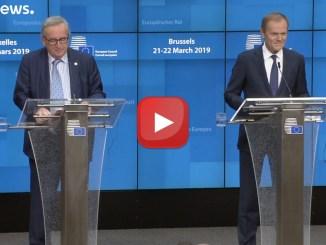 Suspence sulla Brexit e occhi puntati sulla Cina, si conclude il vertice europeo