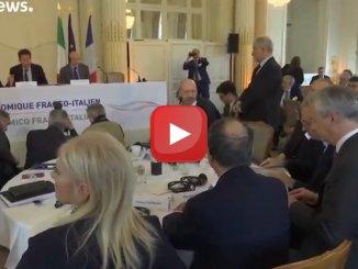 Italia-Francia, a Versaille si riparte dall'economia il vertice di Medef e Confindustria.