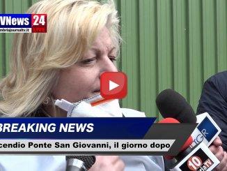 Incendio Ponte San Giovanni, intervista a Cristiana Simoncini dell'Arpa