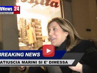 Inchiesta sanità, dimissioni della presidente Catiuscia Marini