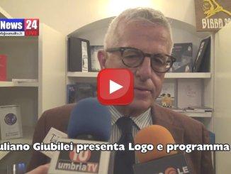 Video intervista con Giuliano Giubilei presentazione simbolo e programma | Scarica PDF