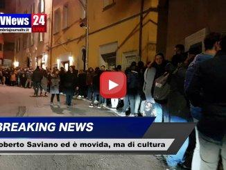 Festival del giornalismo, Roberto Saviano ed è movida, ma di cultura