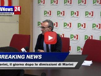 Sanità umbra, Walter Verini, dimissioni Marini non chieste dal Pd
