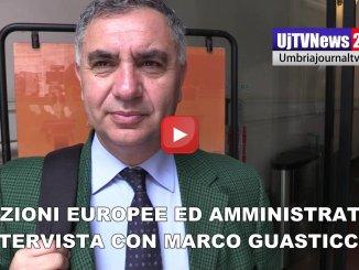 Elezioni Europee ed amministrative l'intervista video con Marco Vinicio Guasticchi