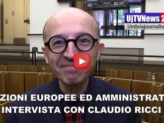 Europee, amministrative e non solo intervista con Claudio Ricci