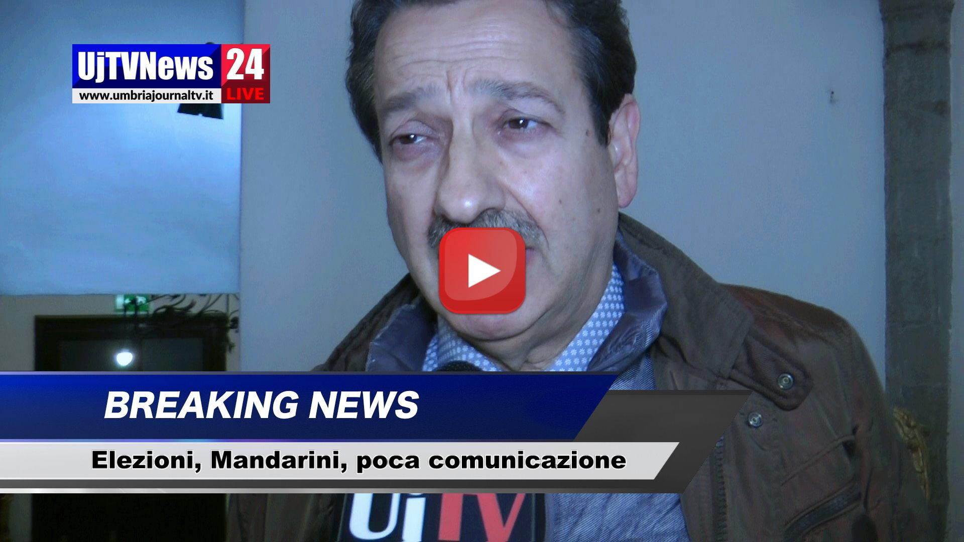 Elezioni, Marco Mandarini: «Pochi giornali ci pubblicano»
