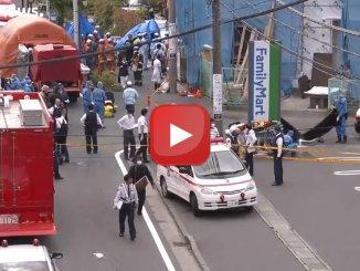 Giappone, accoltellati alla fermata: muore una bimba