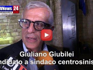 Elezioni Perugia, Giubilei sarà consigliere, intervista dopo vittoria Romizi