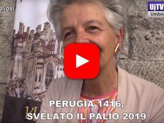 Perugia 1416, svelato il Palio 2019, intervista a Maria Teresa Severini