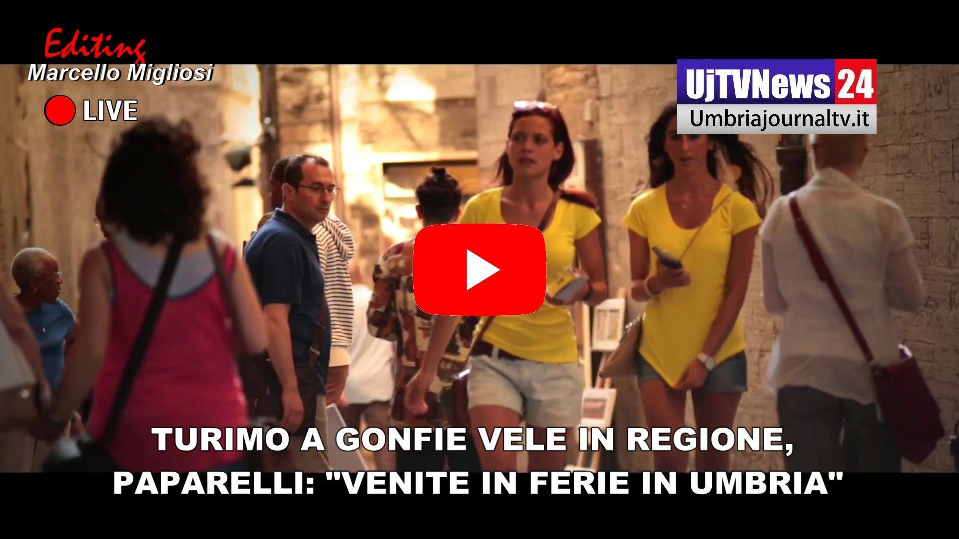 Turismo a gonfie vele in regione, presidente Paparelli invita a fare ferie in Umbria