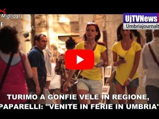 Turismo a gonfie vele in regione, presidente Paparelli invita a fare ferie in Umbria