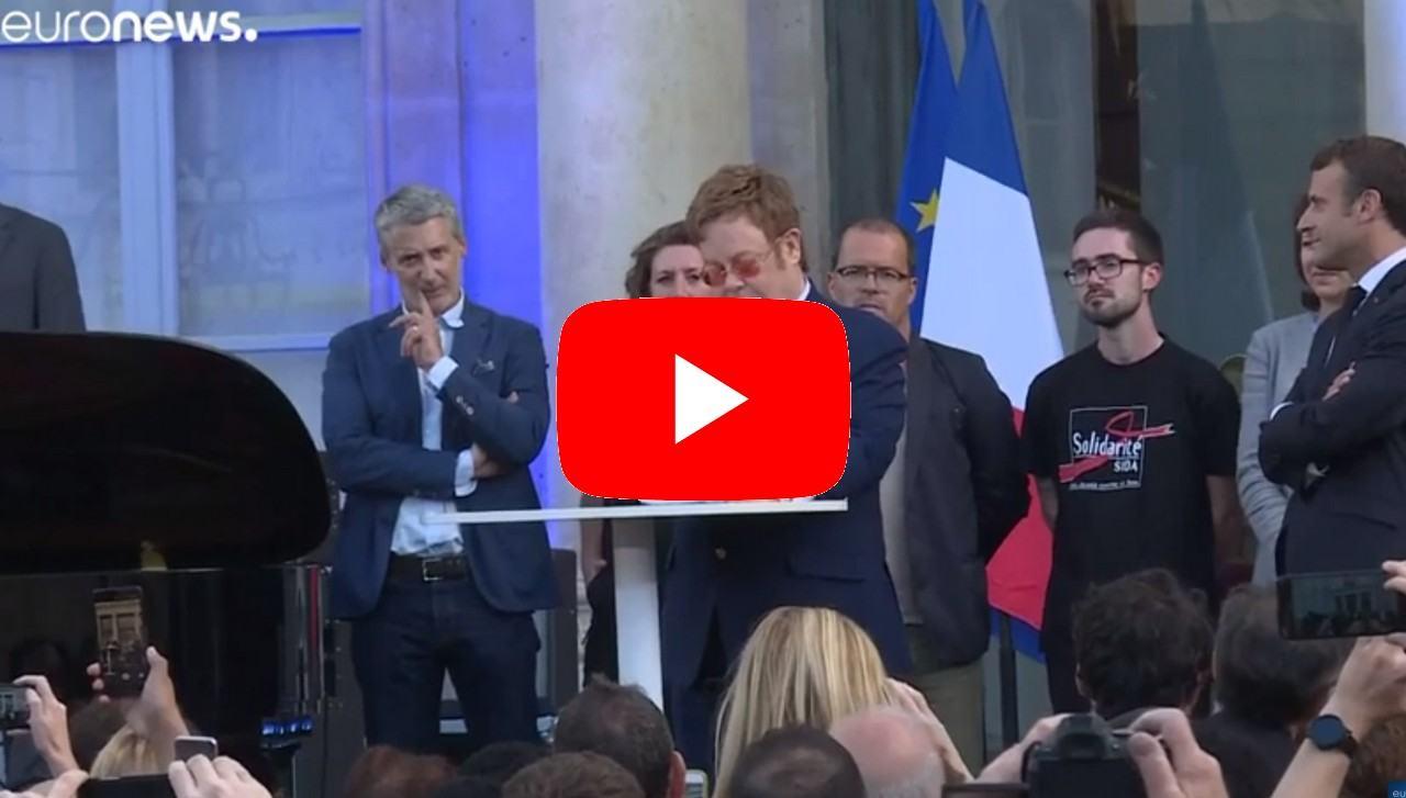 Legione d'onore in Francia per il grande Sir Elton John