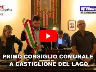 Insediato il Consiglio comunale di Castiglione del Lago