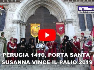 Perugia 1416, Il Rione di Porta Santa Susanna vince il Palio 2019