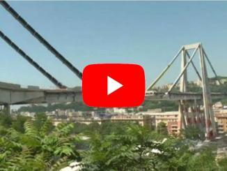 Genova: giù due pilastri del Ponte Morandi, paura per le polveri