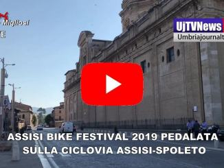 Assisi Bike Festival pedalata sulla Ciclovia Assisi-Spoleto - Video