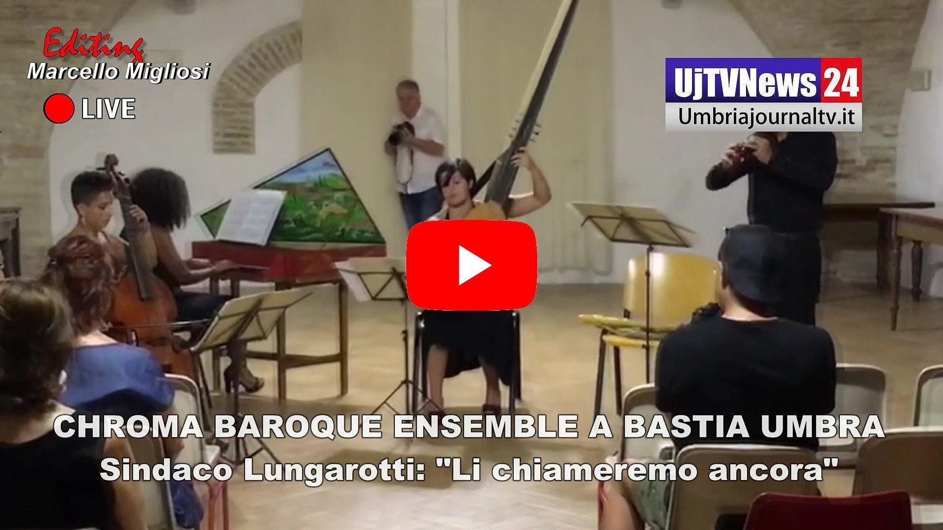 Successo dei Chroma Baroque Ensemble, Lungarotti, li inviteremo ancora