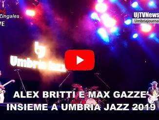 Alex Britti e Max Gazzè, In missione per conto di Dio, Arena di Umbria Jazz