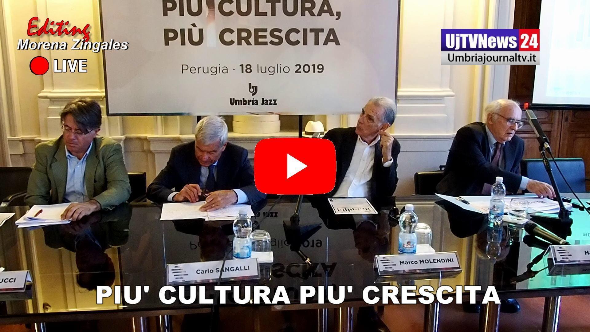 Cultura e spettacolo creano ricchezza, presentata ricerca a Perugia