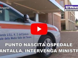 Punto nascita Pantalla di Todi, presidente Paparelli scrive al ministro Grillo