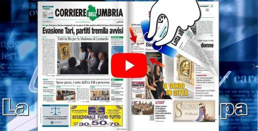 Rassegna stampa di Umbria journal TV video e sfogliabile 4 luglio 2019