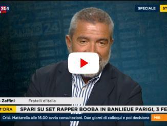 🔴 Video - Senatore Zaffini a Rai News 24: «Il governo si fa con il PD di Renzi»