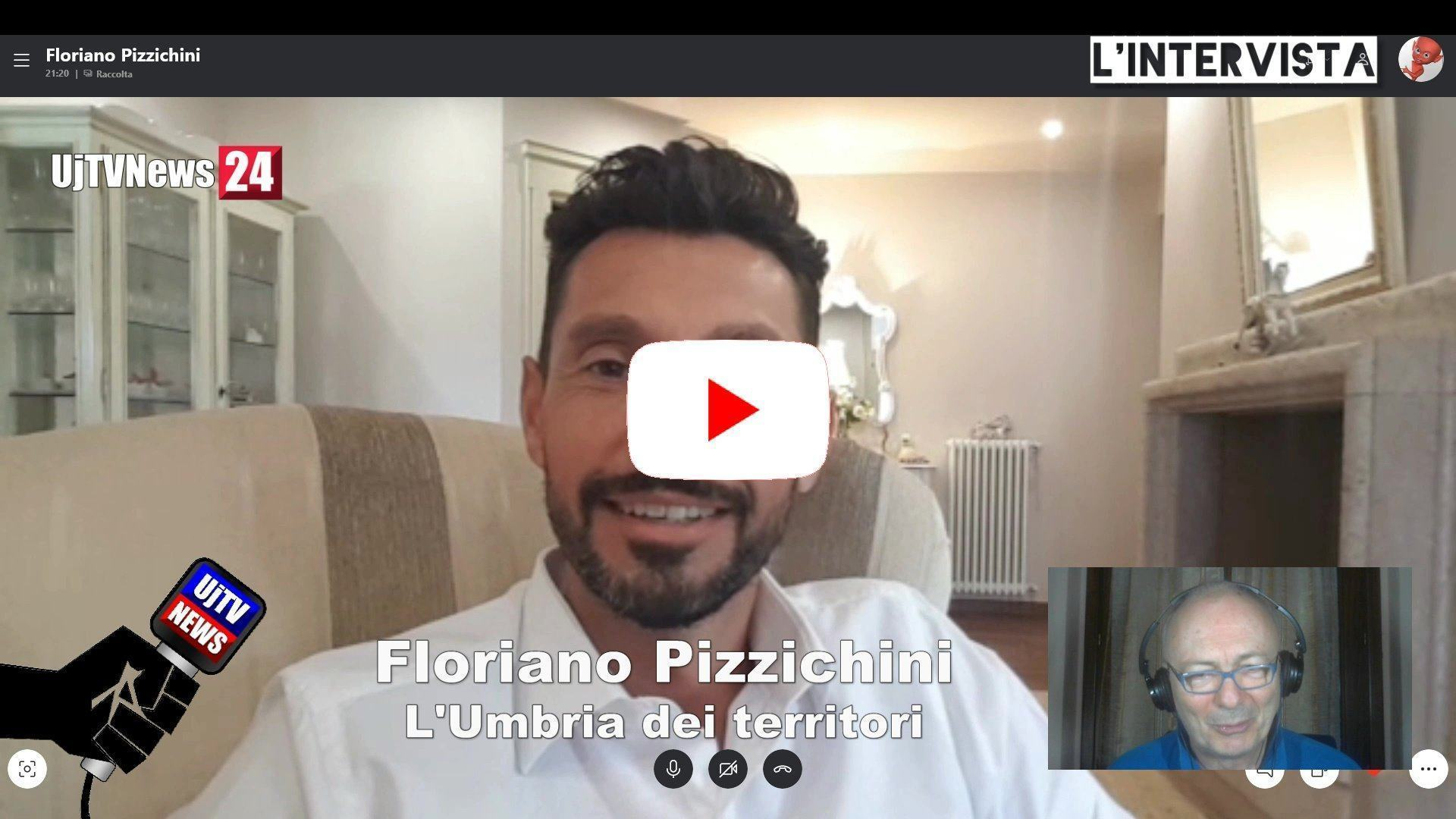 Umbria dei Territori Floriano Pizzichini (Udt) a L'Intervista su Umbria Journal TV