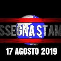 Rassegna stampa dell'Umbria sabato 17  agosto 2019 UjTV News24 LIVE