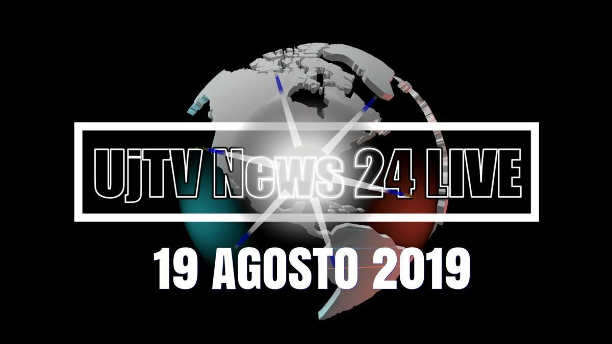 TG edizione della sera 19 agosto 2019 telegiornale dell'Umbria UjTV News24 LIVE