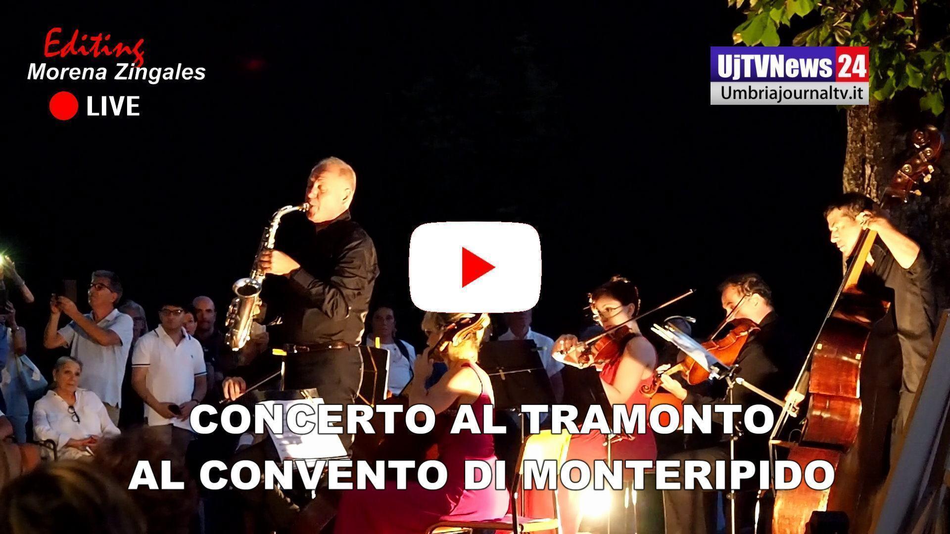 Concerto al tramonto al convento di Monteripido a Perugia, UmbriaEnsamble