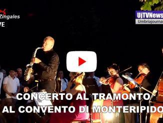 Concerto al tramonto al convento di Monteripido a Perugia