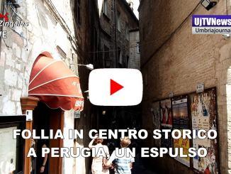 Follia in centro a Perugia, espulso uno dei responsabili