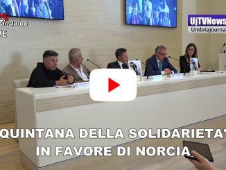 Quintana di solidarietà il 6 ottobre a favore di Norcia