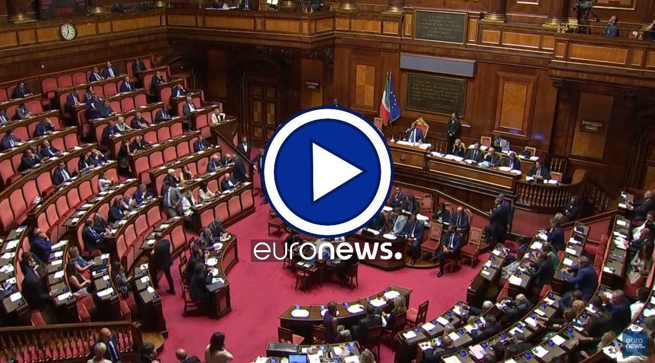 Crisi di Governo la diretta degli interventi da Palazzo Madama | Video