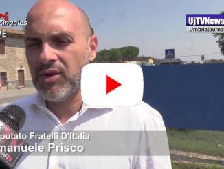 Rivolta Capanne, Emanuele Prisco in visita al carcere di Capanne
