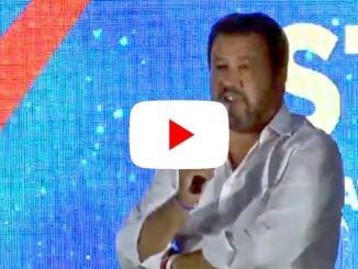 Matteo Salvini diretta llive a ATREJU a Roma, aspetto al varco i vigliacchi
