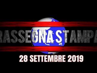 Rassegna stampa dell'Umbria 28 settembre 2019 UjTV News24 LIVE