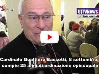 Cardinale Gualtiero Bassetti compie 25 anni di ordinazione episcopale