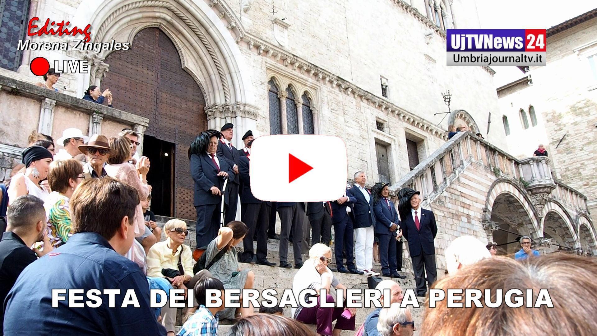 Festa dei Bersaglieri, due giorni di eventi a Perugia, il video