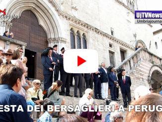 Festa dei Bersaglieri, due giorni di festa a Perugia, il video