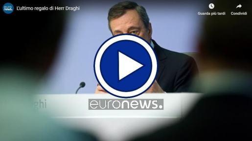 L'ultimo regalo di Herr Mario Draghi arriva Christine Lagarde