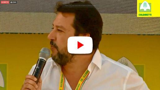 Diretta streaming di Matteo Salvini Live da Bologna al Villaggio Coldiretti