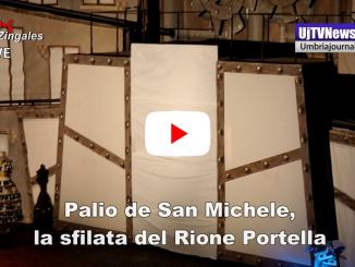 Palio De San Michele, la sfilata del Rione Portella