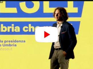 Elezioni Umbria, Donatella Tesei apre la campagna elettorale | Diretta streaming